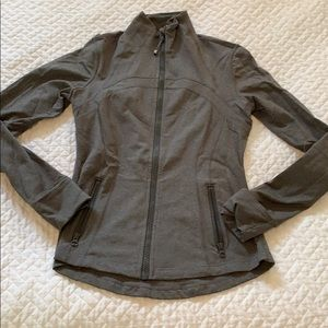 Lululemon define jacket in olive